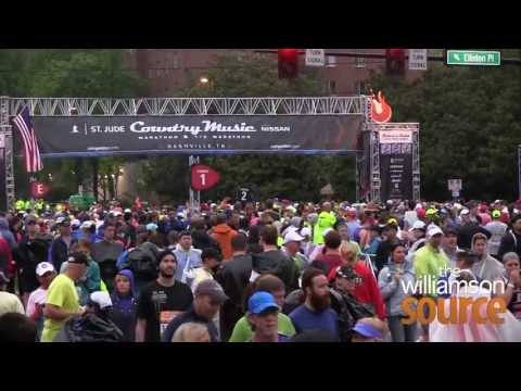 Williamson Source made it out to the Country Music Marathon and talked to David Haywood and Becca Oberlander who ran in todays race.