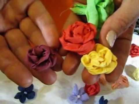 ▬► Цветы из бумаги. Часть 3. Promo