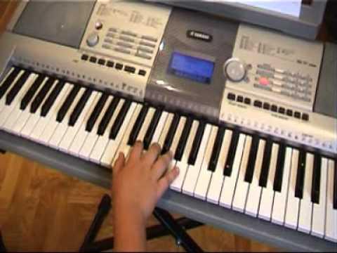 Pierwsza Lekcja Gry Na Keyboardzie (Obsługa Instrumentu) Cz1
