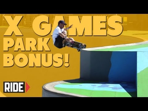 X Games Brazil 2013 -- Bonus Park &quot;Finals&quot; Practice Footage with Barros, Glifberg, and More!