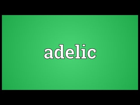 Header of Adelic