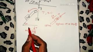 inclined plane and pulley trick in hindi