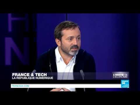 L'invité de l'économie - Stéphane Distinguin, PDG de FaberNovel et président de Cap Digital