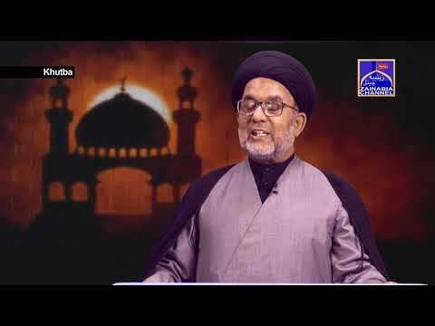 Khutba By Maulana Ahmed Ali Abedi Zainabia Studio