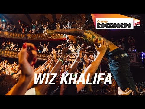 Wiz Khalifa - We Dem Boys (live @ Orange RockCorps Paris 2014)