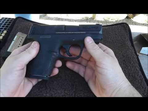 S&W Shield 9mm:  Range Review!