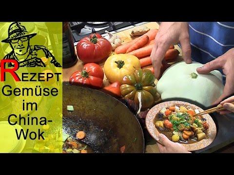 Rezept: Aus dem Gartengemüsekiosk in den China-Wok