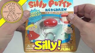 Day #5 - 24 Days of Christmas 2012 Advent Calendar (Silly Putty Keychain) Santa Toy Contest