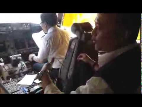 Interview with pilot Haji Flight Malaysia Airline System Boeing 777-200 in Alor Setar