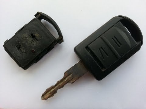 Opel / Vauxhall Key Fob step by step Repair guide and battery replacement.
