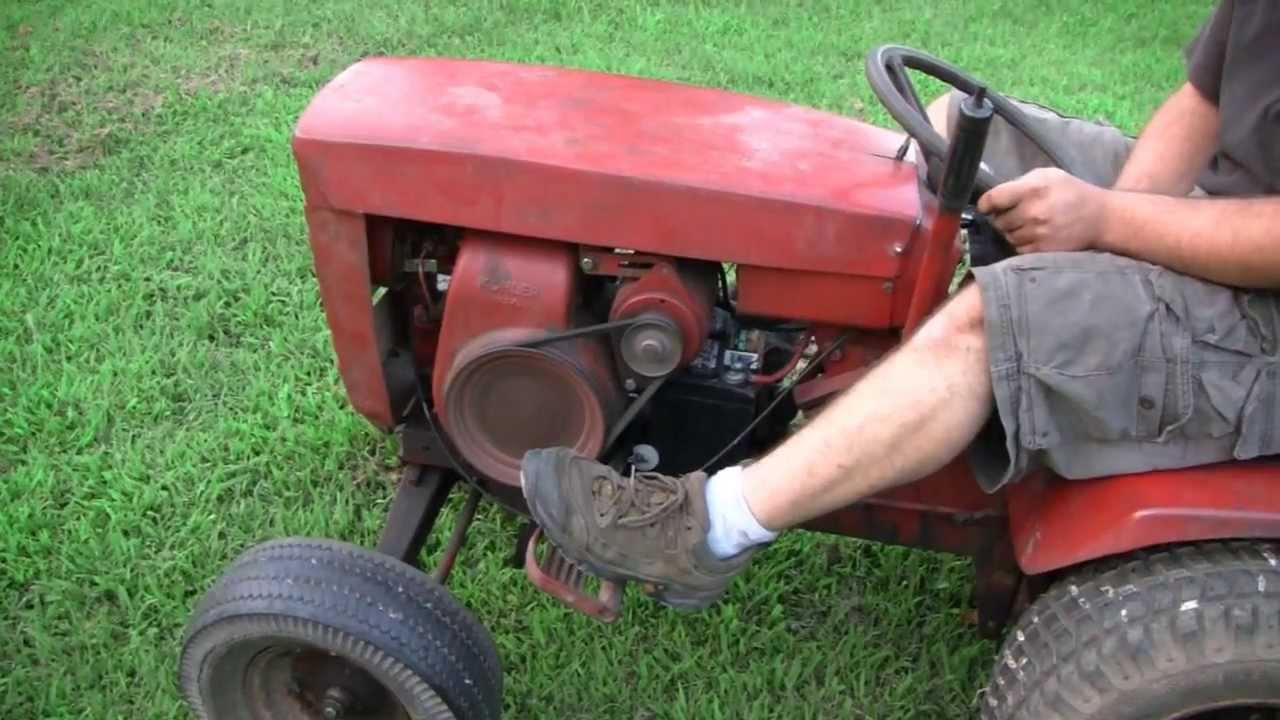 New Wheel Horse Tractor Youtube