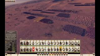 25k men: late roman army fights against barbarians