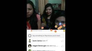 Riya Khan LIVE On facebook