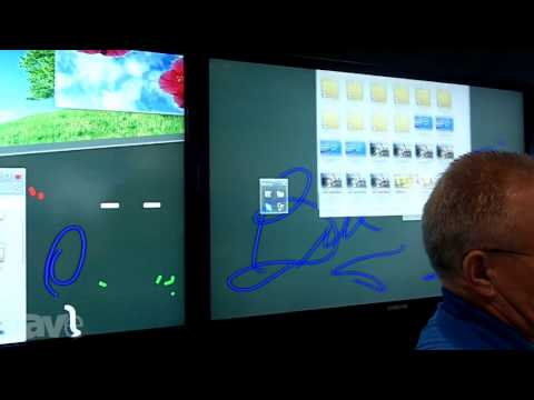 InfoComm 2013: Samsung Discusses its Interactive Whiteboard Solution