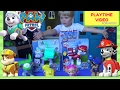 PLAYTIME KIDS VIDEO WITH PAW PATROL JUMBO ACTION PUPS WITH NEW EVEREST & MARSHALL | Paw Patrol Toys