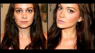 My Foundation Routine ❤ Full Coverage & Flawless Face + Cover Up Acne!