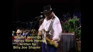 Waylon Jennings - Honky Tonk Heroes - 1984