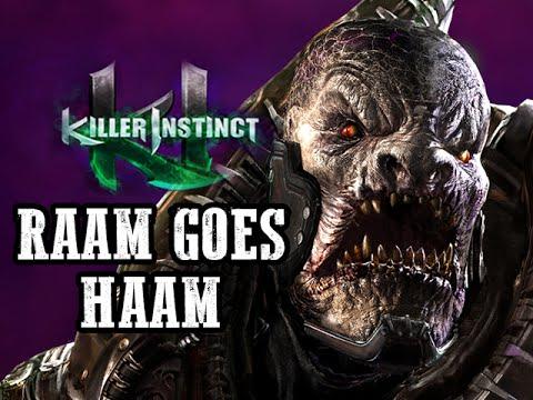 RAAM GOES HAAM: General Raam - Killer Instinct Online Matches