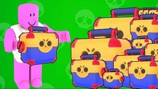 [브롤스타즈] 상자 25개 열어봤어요 전설 나와라!! 나와라!!! 간단 리뷰 & 플레이 영상