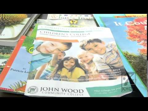 Your young kids can go to college at John Wood Community College