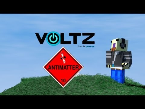 Minecraft Voltz Tutorial : Antimatter and Large Hadron Collider