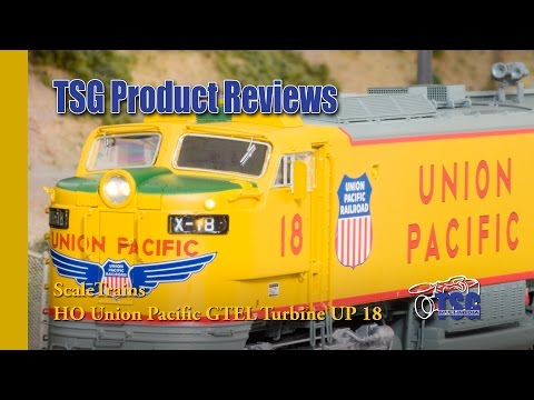 HO Union Pacific GTEL 8500 Museum Quality Big Blow Turbine Scale Trains Product Review