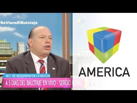 """Sergio Berni: """"La lucha del Narcotráfico no se hace en una frontera"""""""