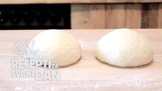 Tijesto Za Pizzu - Video Recept