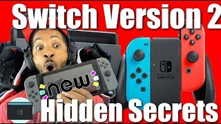 New Nintendo Switch Version 2 Hidden Secrets!