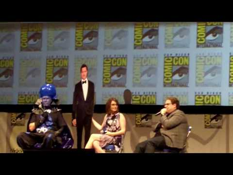 Comic Con 2010: MEGAMIND Panel - Part 2