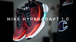 On The Foot & Review EP.18 Nike Hyperadapt 1.0 HABANERO