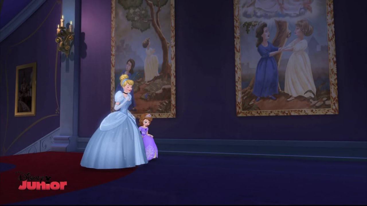 Sofia The First ft Cinderella