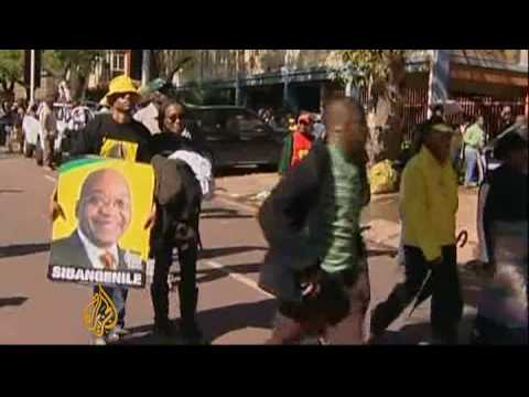 Zuma sworn in as South Africa's president - 9 May 09