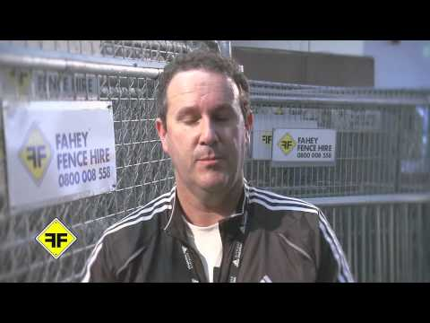 Adidas Auckland Marathon - Ricard Lindroos. Temporary fencing - Fahey Fence Hire Auckland