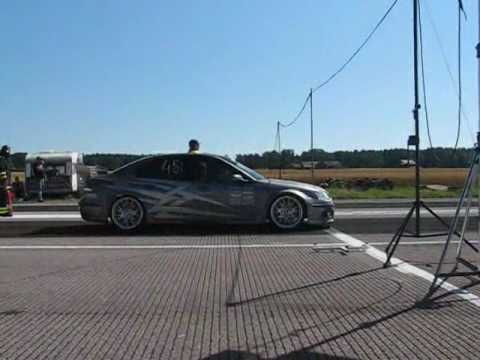 802hp Saab 9-3 AWD... Video