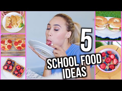 5 Easy and Cheap DIY Breakfast & Lunch Ideas for Back To School!