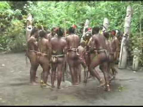 Vanuatu - Natives in Pele-Beder-Kever do the Leve Dance