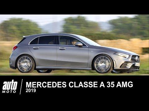 Mercedes CLASSE A 35 AMG 306 Ch 2019 ESSAI POV AUTO-MOTO.COM