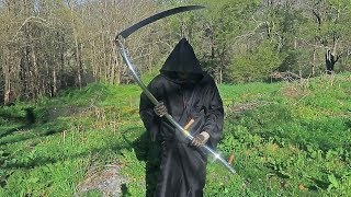 Cutting Grass with a Scythe