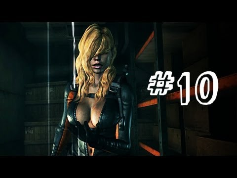 Resident Evil Revelations Gameplay Walkthrough Part 10 - Rachel Boss Fight - Campaign Episode 4