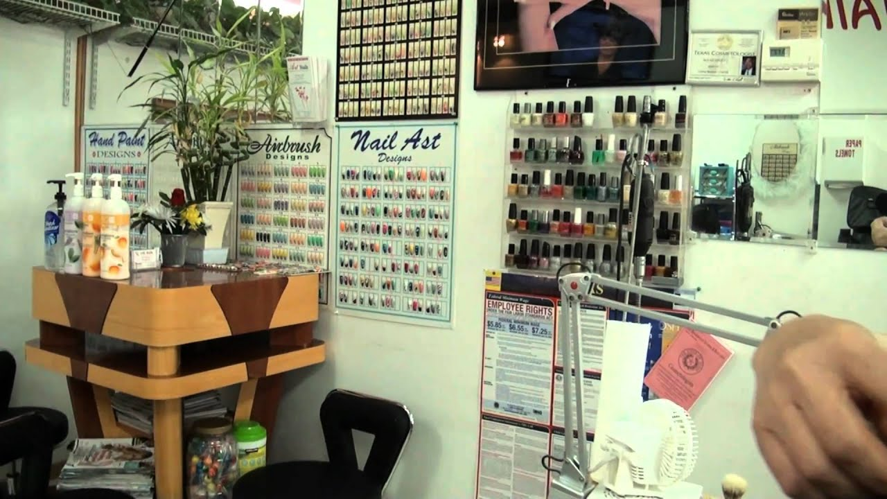 Art Nails Nail Salon - Wylie Texas - YouTube