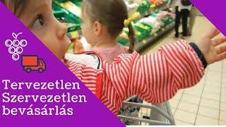 Tervezetlen - szervezetlen bevásárlás a gyerekekkel