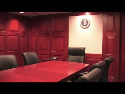 The White House Situation Room, Rebuilt At The Bush Library