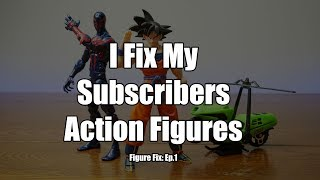 Figure Fix Ep. 1: Goku joint fix, Super Loose Spider-Man 2099, and Mask Motorcycle.