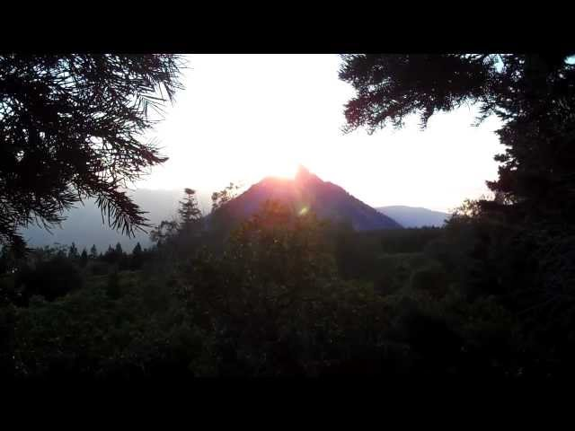 Shasta Sunset
