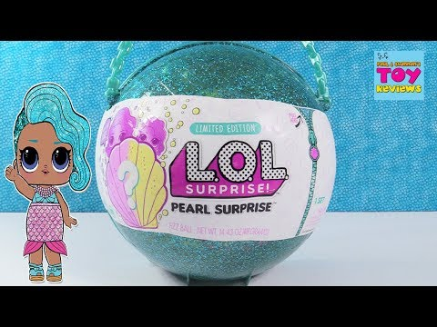 Pearl Surprise LOL Surprise Doll Limited Edition Toy Unboxing Review Fizz | PSToyReviews