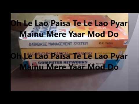 Yaar Mod Do with lyrics Punjabi Song