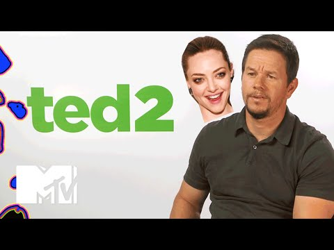 Mark Wahlberg Pranked By Amanda Seyfried On The 'Ted 2' Set | MTV News
