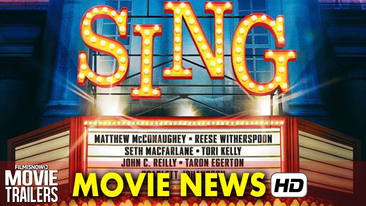 A-list cast revealed for Illumination's SING releasing in 2016!