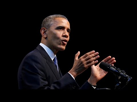 President Obama speaks at climate summit